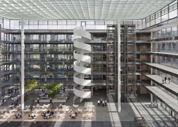 Foto de un edificio de oficinas